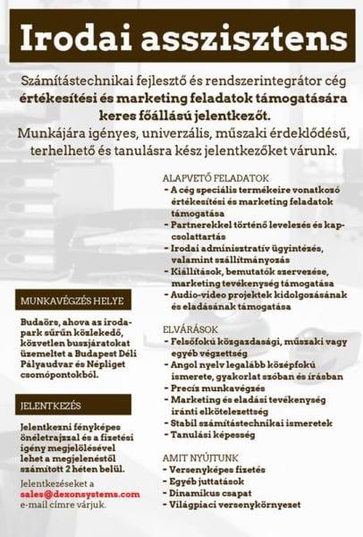 önéletrajz irodai munkához irodai munka (2)   Budaörsi Napló önéletrajz irodai munkához